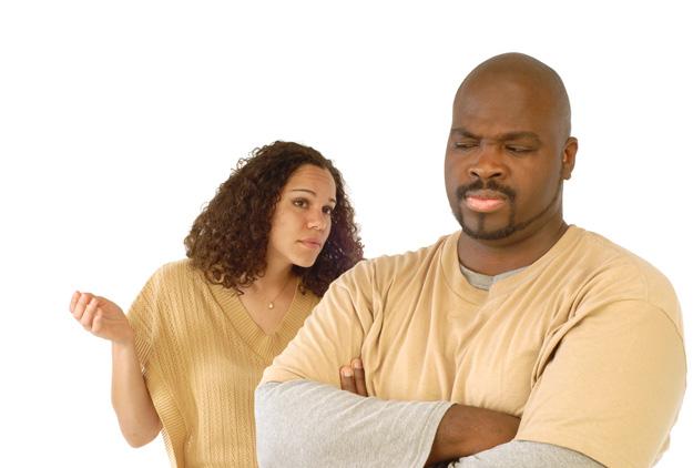 black-couple-arguing
